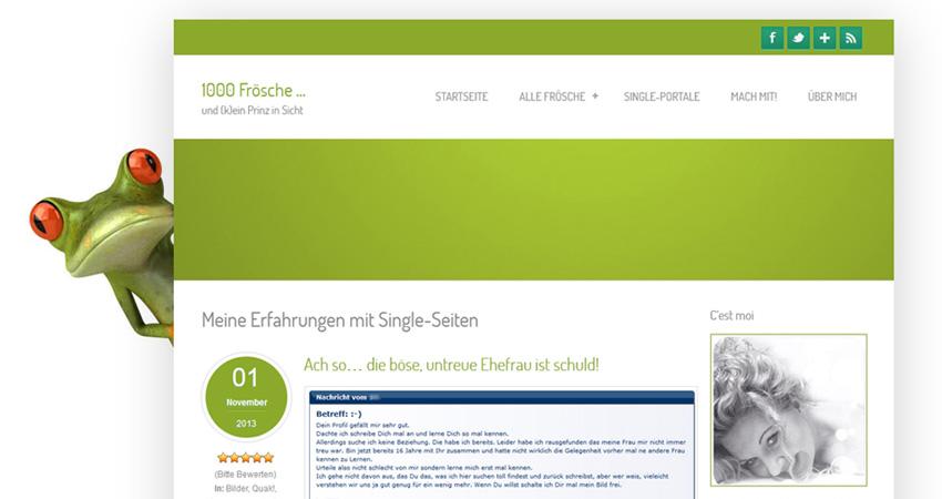 Blog, Community: 1000 Frösche